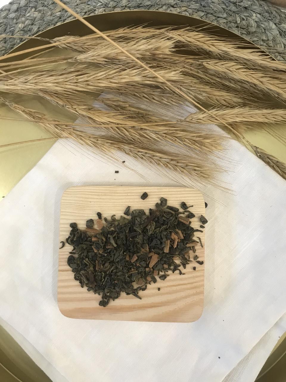 Чай зелений Ганпаудер зі спеціями