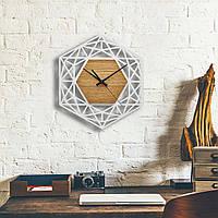 Деревянные настенные часы Moku Ginza 2, фото 1