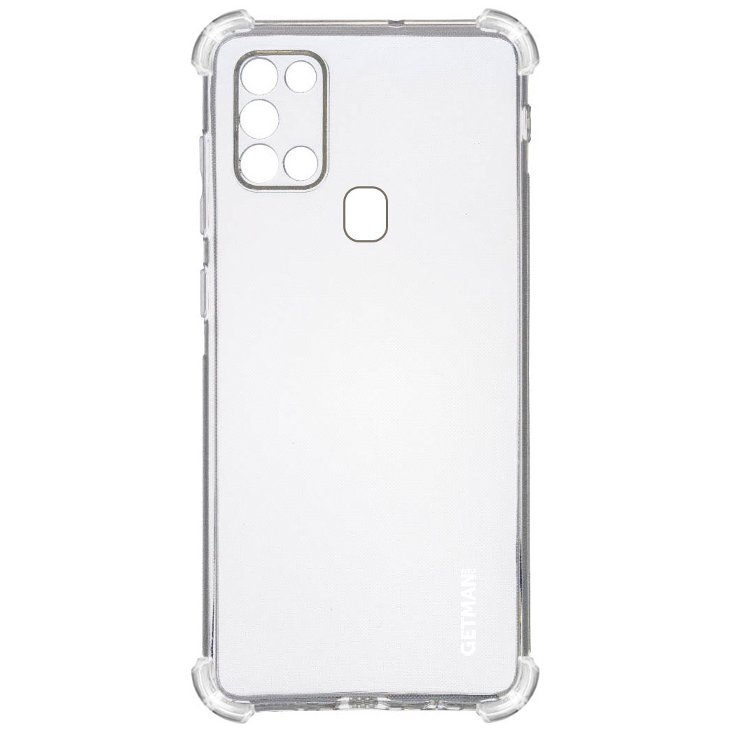 TPU чехол GETMAN Ease logo усиленные углы для Samsung Galaxy A21s