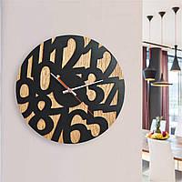 Деревянные настенные часы Moku Nakagawa, фото 1