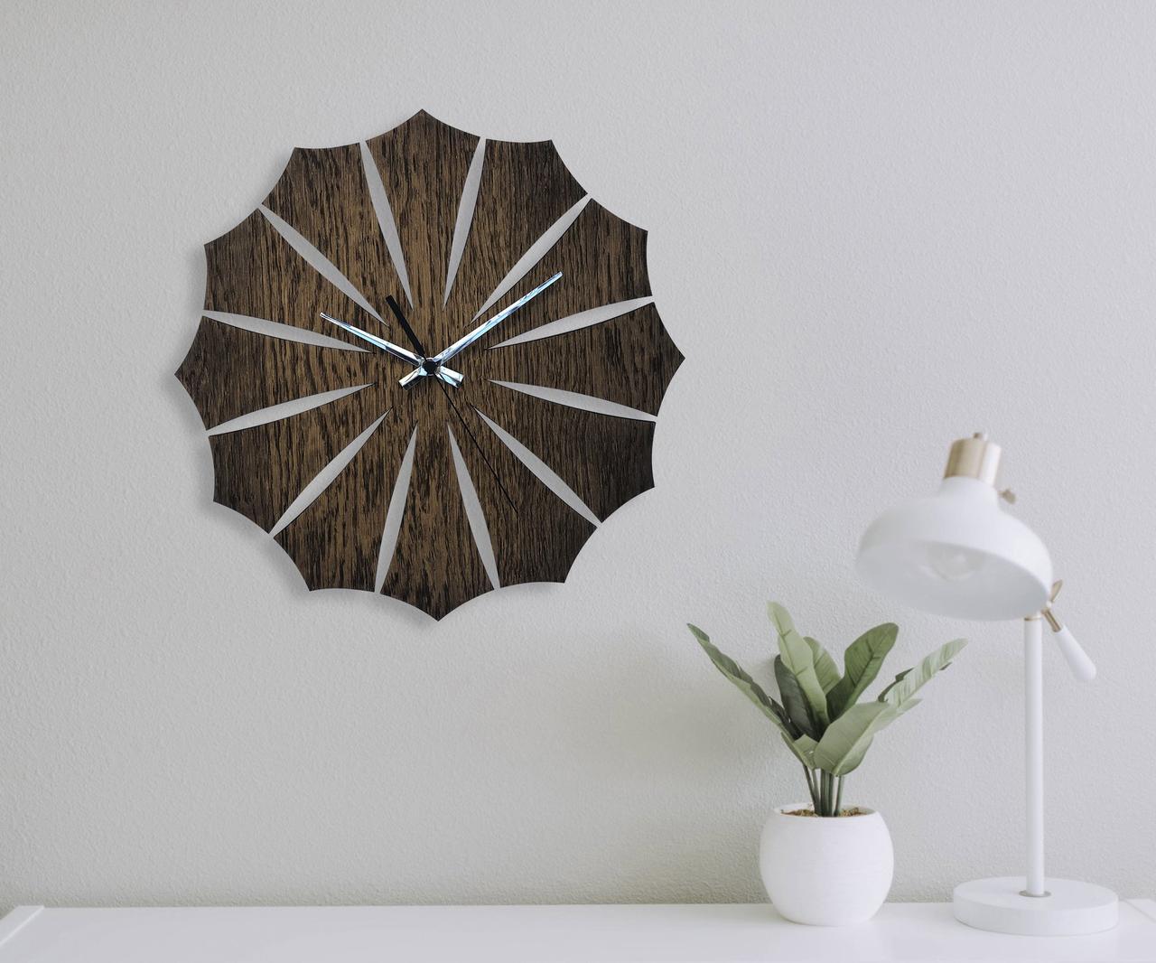 Деревянные настенные часы Moku Odaiba