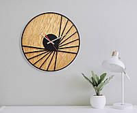 Деревянные настенные часы Moku Takayama, фото 1