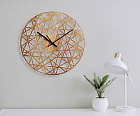 Деревянные настенные часы Moku Tamagawa, фото 1