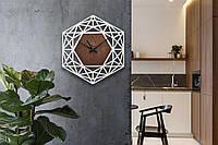 Деревянные настенные часы Moku Ginza 3, фото 1