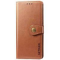 Кожаный чехол книжка GETMAN Gallant (PU) для Xiaomi Redmi Note 9 / Redmi 10X