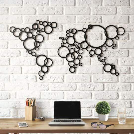Картина из дерева Decart Circles
