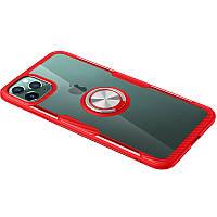 "TPU+PC чехол Deen CrystalRing for Magnet (opp) для Apple iPhone 11 Pro Max (6.5""), фото 1"