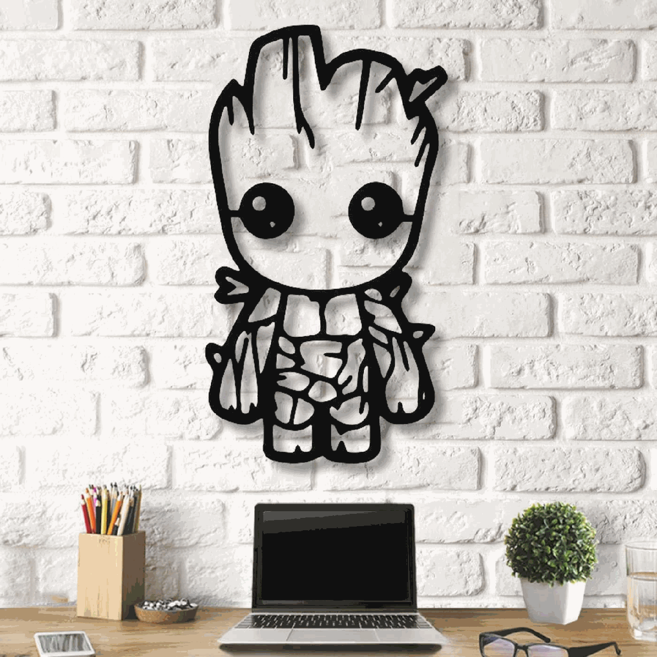 Картина из дерева Decart Groot