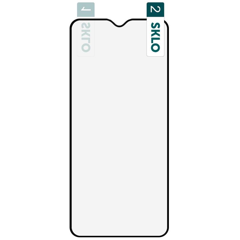 Гибкое защитное стекло SKLO Nano (тех.пак) для Samsung Galaxy A10 / A10s / M10