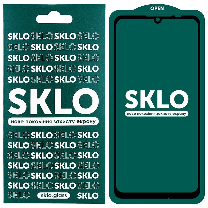 Защитное стекло SKLO 5D (full glue) для Xiaomi Redmi Note 7 / Note 7 Pro / Note 7s