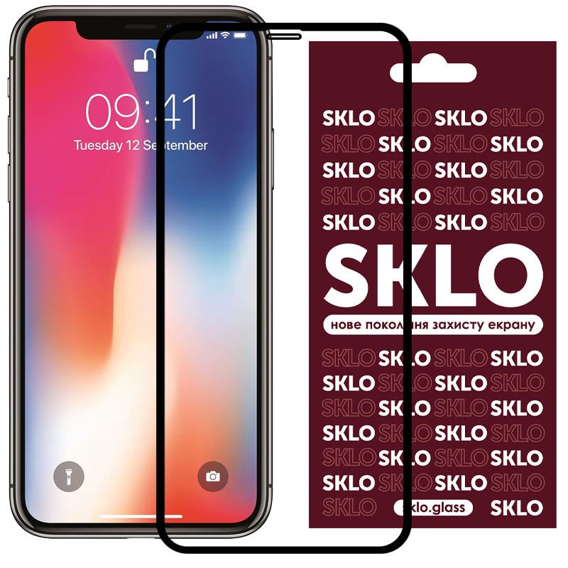 "Защитное стекло SKLO 3D (full glue) для Apple iPhone 11 / XR (6.1"")"