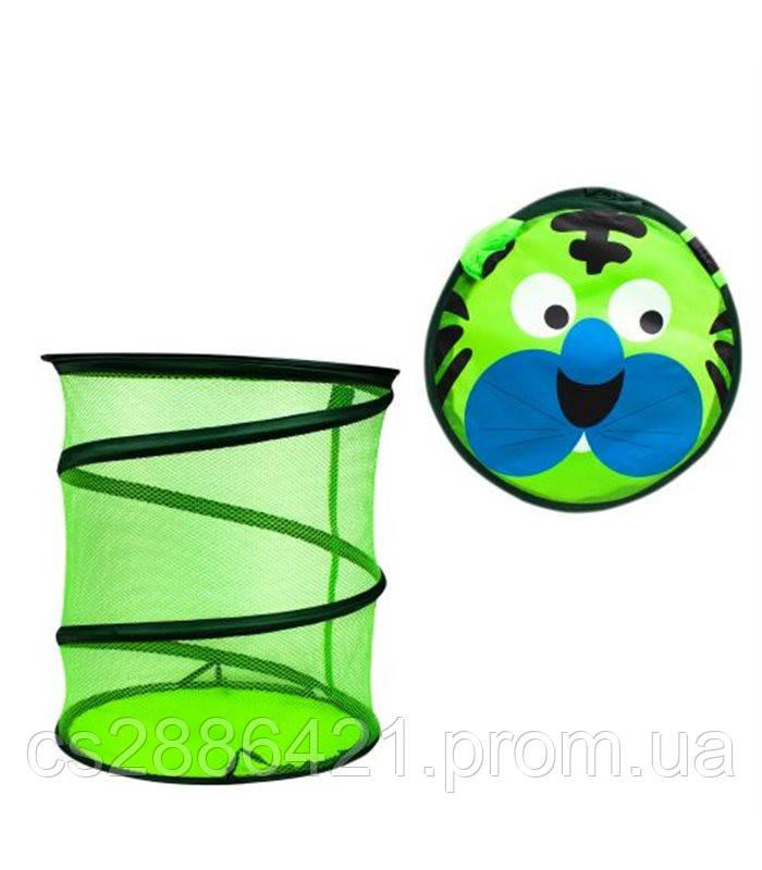Корзина для игрушек BT-TB-0005 (Тигр Зелёный)