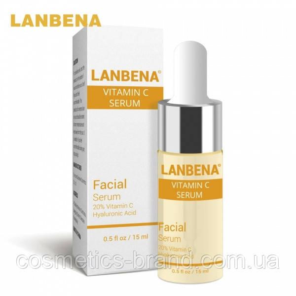 Сыворотка с витамином С для здоровой кожи Lanbena Vitamin C Serum, 15 ml