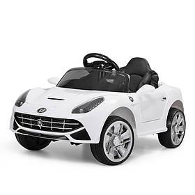 Дитячий електромобіль Porsche (2мотора25W, 2 акум, МР3, USB) Bambi M 3176EBLR-1 Білий