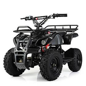 Детский (подрастковый) квадроцикл Profi (мотор 800W, 3 аккум) HB-EATV800N-19 V3 Карбон