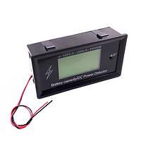 Цифровой энергометр с Bluetooth 300В 100А DC, ваттметр, амперметр, вольтметр