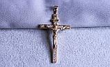 Крестик фирмы Xuping с позолотой (color 16), фото 3