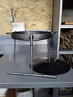 Дисковая сковорода для костра с крышкой 40 см