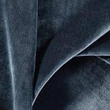 Бархат для перетяжки мебели Детерминэйшн (Determination) темно-синего цвета, фото 3