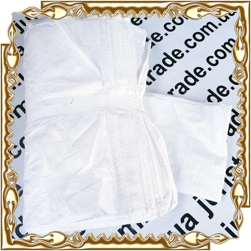 Мешок полипропиленовый белый 50*90 см. ( 50 кг.)