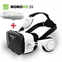 Очки виртуальной реальности с наушниками 3D VR BOBO Z4 Plus с пультом