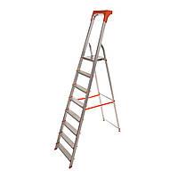 Стремянка алюминиевая Laddermaster Alcor A1AT8. 8 ступенек, фото 1
