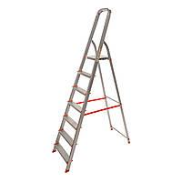 Стремянка алюминиевая Laddermaster Vega A1B7. 7 ступенек, фото 1