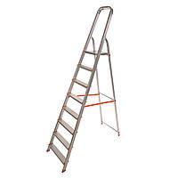 Стремянка алюминиевая Laddermaster Vega A1B8. 8 ступенек, фото 1