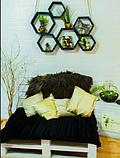 3Д панель декоративна самоклеюча під Білу цеглу 7 мм, фото 8