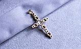 Кулон - хрестик фірми Xuping позолота (color 3), фото 3