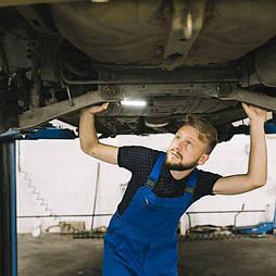 Диагностика подвески легкового автомобиля