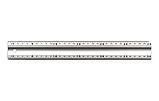 Лінійка будівельна STAR TOOL, 300 мм, алюмінієва, фото 3