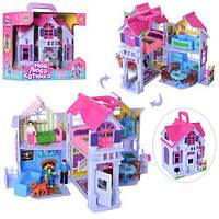 Ляльковий будинок з фігурками, меблі F611. ( pl 519-0801 )