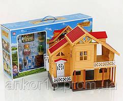 Будиночок Щаслива сім'я 012-03, меблі, фігурка