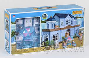 Будиночок Щаслива сім'я 012-11 меблі, підсвітка