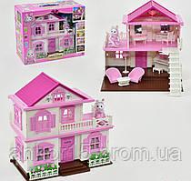 """Будиночок """"Щаслива родина"""" 1515 фігурка, з меблями, підсвітка"""