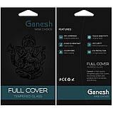 "Защитное стекло Ganesh 3D (2 шт.) для Apple iPhone 11 Pro / X / XS (5.8""), фото 3"