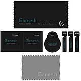 "Защитное стекло Ganesh 3D (2 шт.) для Apple iPhone 11 Pro / X / XS (5.8""), фото 4"