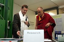 Визит Далай Ламы в Швейцарию на предприятие PADMA AG