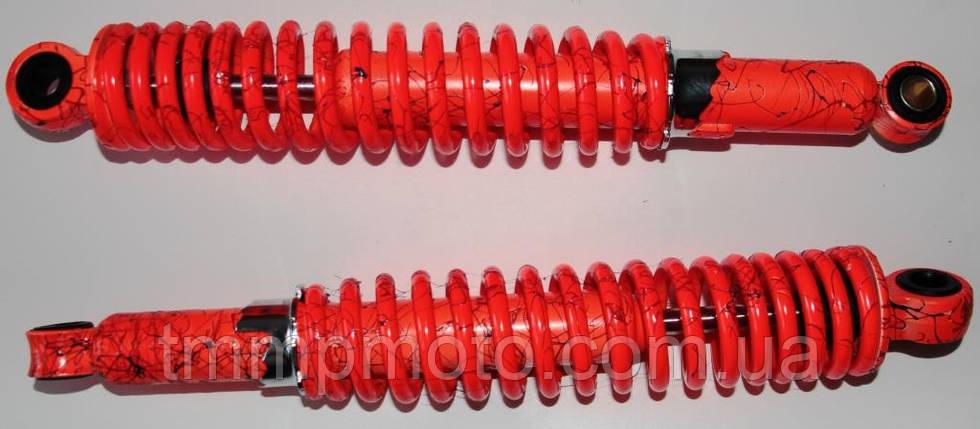 Амортизаторы задние Дельта , Альфа , Актив оранжевые L=345mm, фото 2