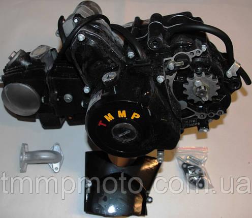 Двигатель Дельта-125см3 для квадроциклов ( 3 вперёд и 1 передача назад ) механика, фото 2