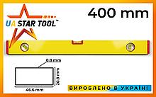 Уровень строительный STAR TOOL ECO 400 мм, окрашенный, 3 капсулы, без ручек
