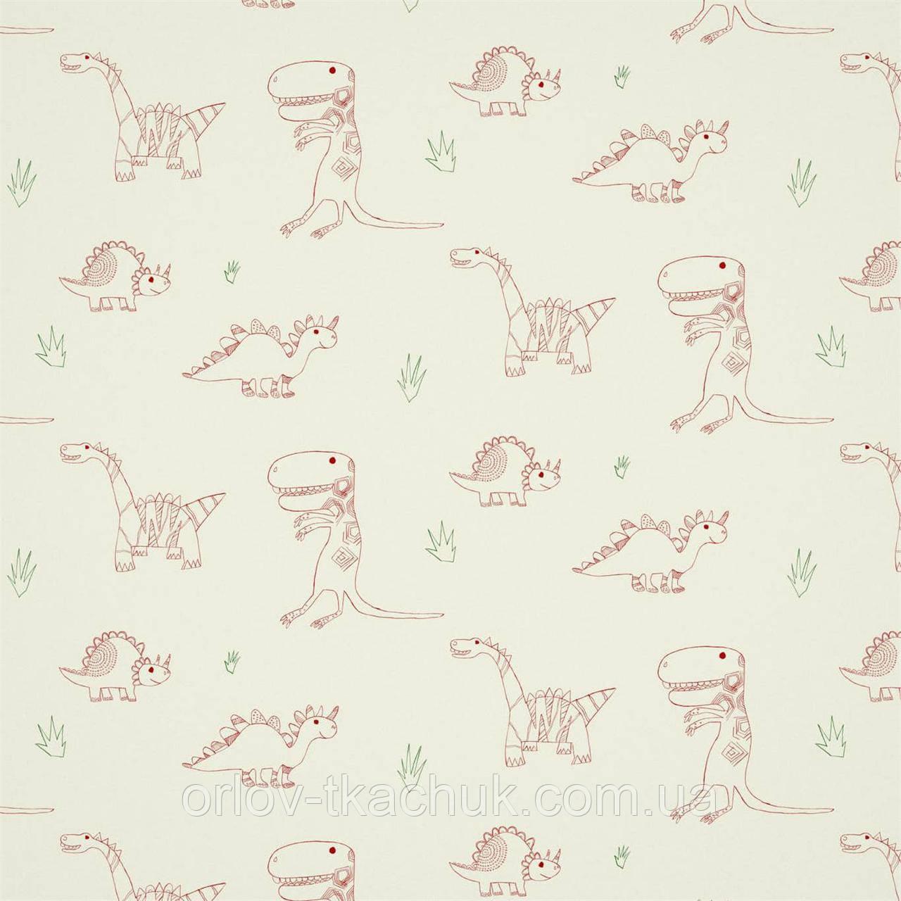 Шпалери в дитячу Jolly Jurassic Book Of Little Treasures Harlequin