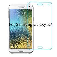 Защитное стекло Premium Tempered Glass 0.26mm (2.5D) для Samsung E700H Galaxy E7 (Duos), фото 1