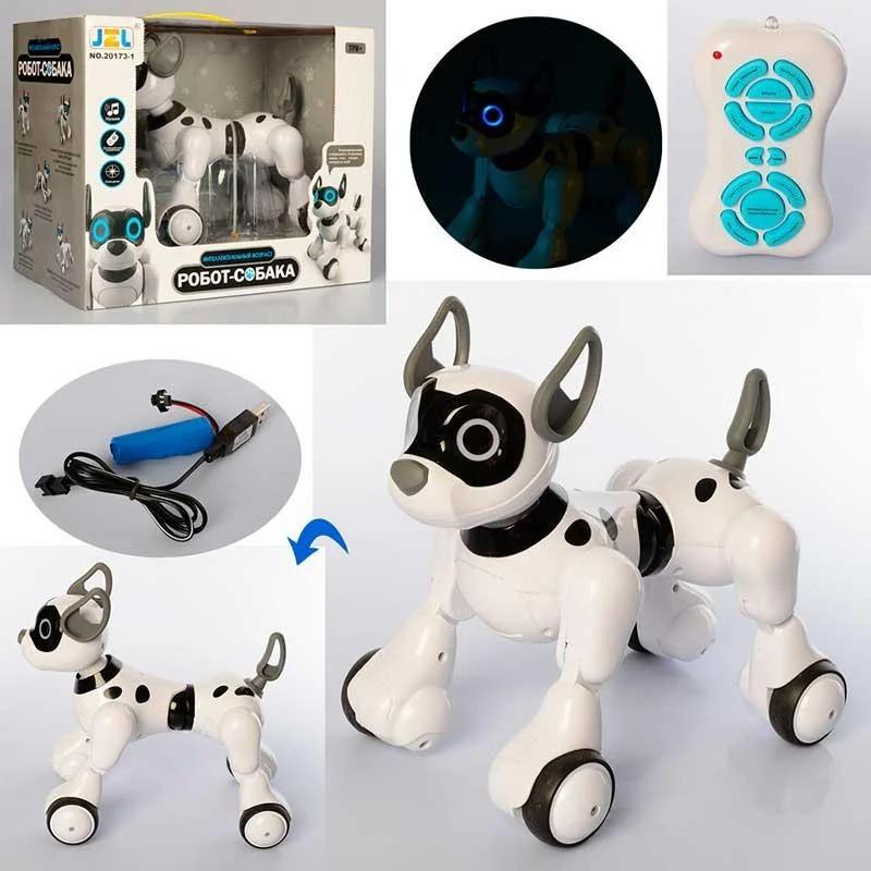 Интерактивная собака робот на радиоуправлении (20173-1)