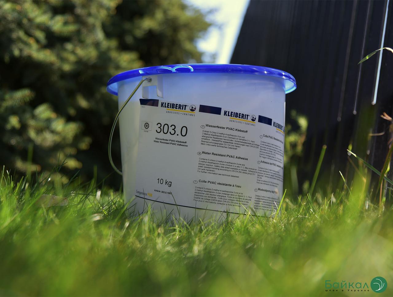 KLEIBERIT 303.0 водостійкий столярний клей ПВА D3 (відро 10 кг)