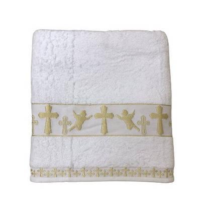 Крыжма для крещения sikel organic cotton 70*140 золото #S/H, фото 2