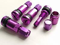 Ниппель, вентиль разборный для литых и стальных дисков (Фиолетовый)