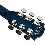 Набір акустична гітара Equites EQ900C BLS 41 + чохол + каподастр, фото 5