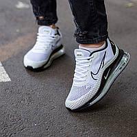 Мужские кроссовки Nike Air Max 720 White \ Найк Аир Макс 720 Белые \ Чоловічі кросівки Найк Аір Макс 720 Білі